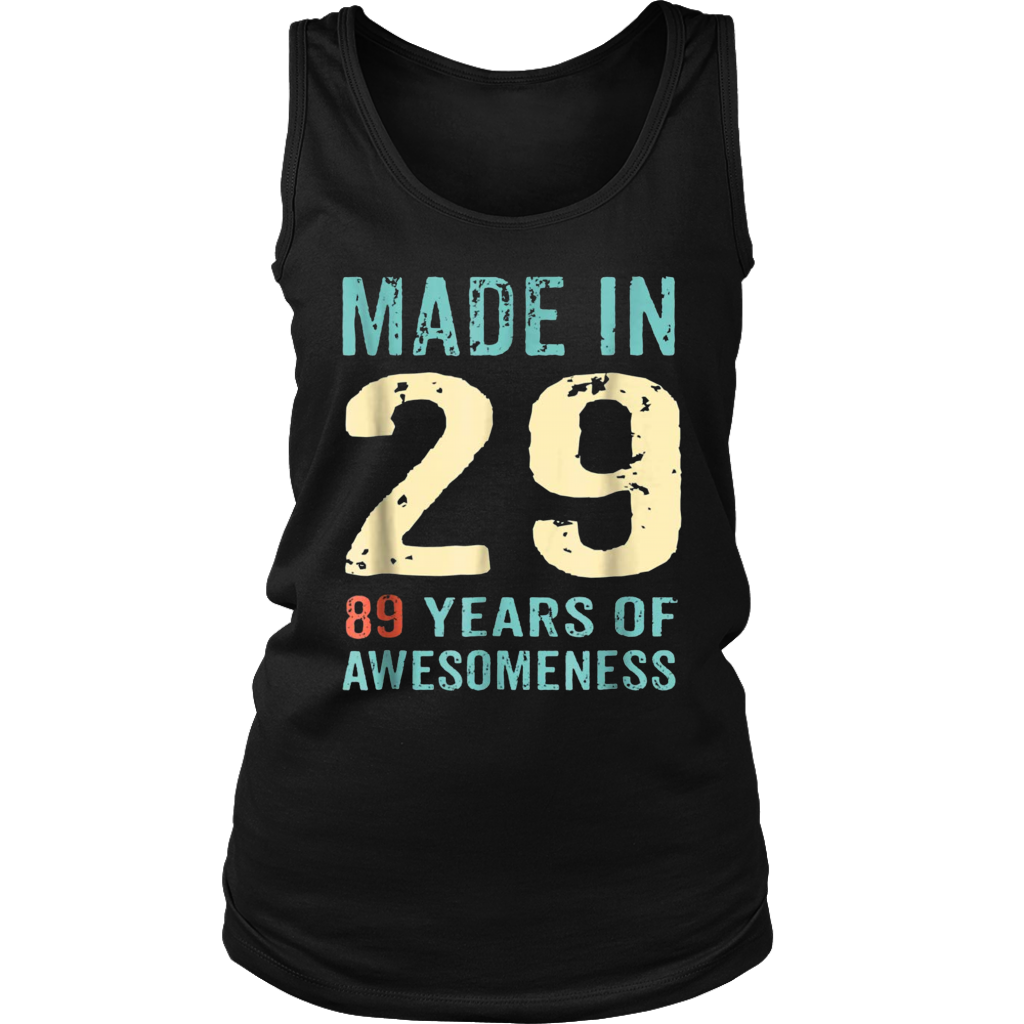 89th Birthday Gift Adult Age 89 Year Old Women Womens