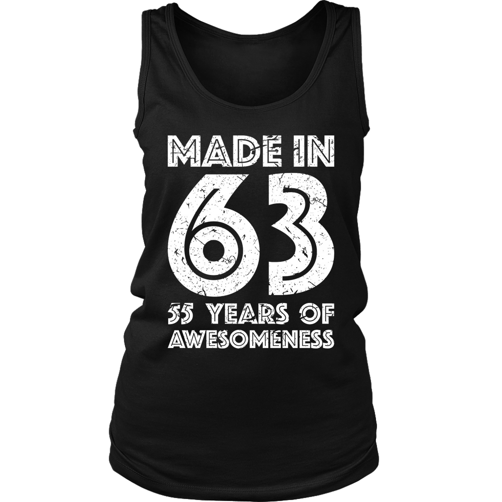 55th Birthday Gift Adult Age 55 Year Old Men Women T Shirt