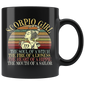 Scorpio Girl Zodiac Mugs October November Birthday Women