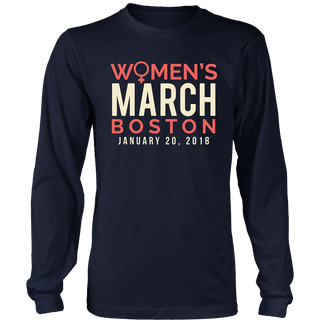 Boston Women's March 2018 T-Shirt
