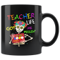 Teacher Life Got Me Feelin Un Poco Loco Skeleton Mugs