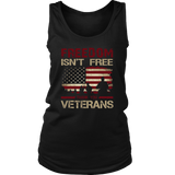 Freedom Isn't Free T-Shirt Thank You Veterans Memorial Day