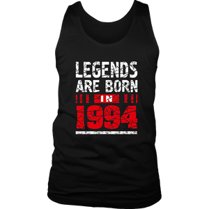 23th Year Old Boy Shirt Gift Legends Are born in 1994 Tee