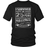 25th Wedding Anniversary I Survived What's Yours Superpower