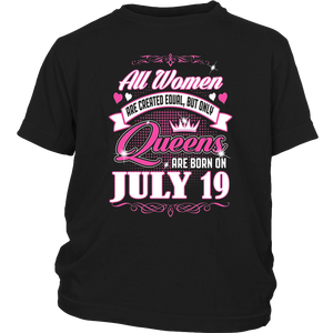 All Women Are Created Equal But The Best Are Born on July 19