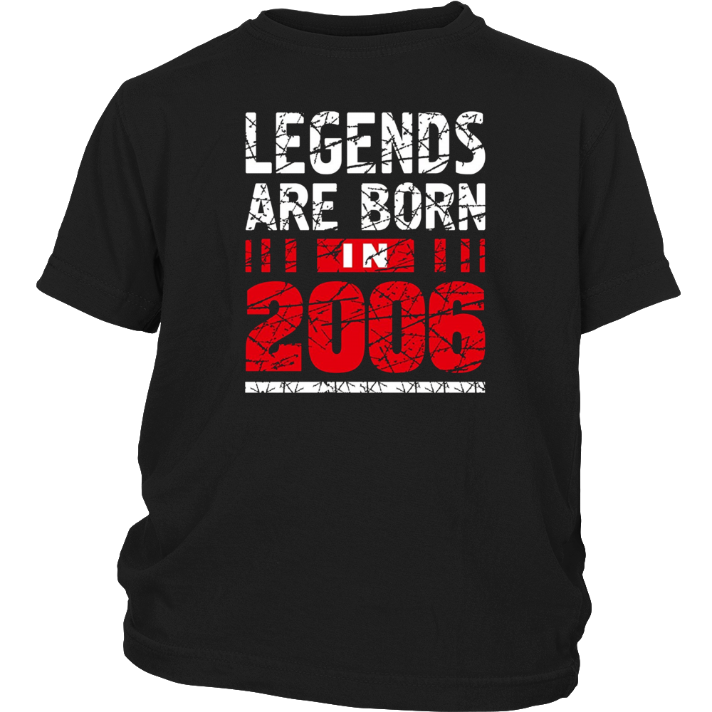 11 years old 11th Birthday B-day Gift Legends 2006 T Shirt