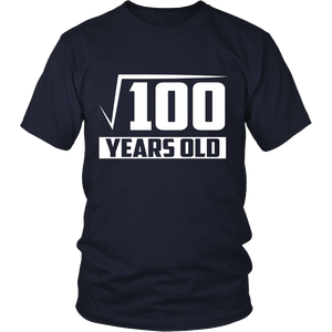 10 Years Old Square Root - Funny 10th Birthday Gift T-Shirt