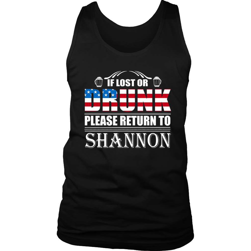 If Lost Or Drunk Please Return To Shannon T-Shirt