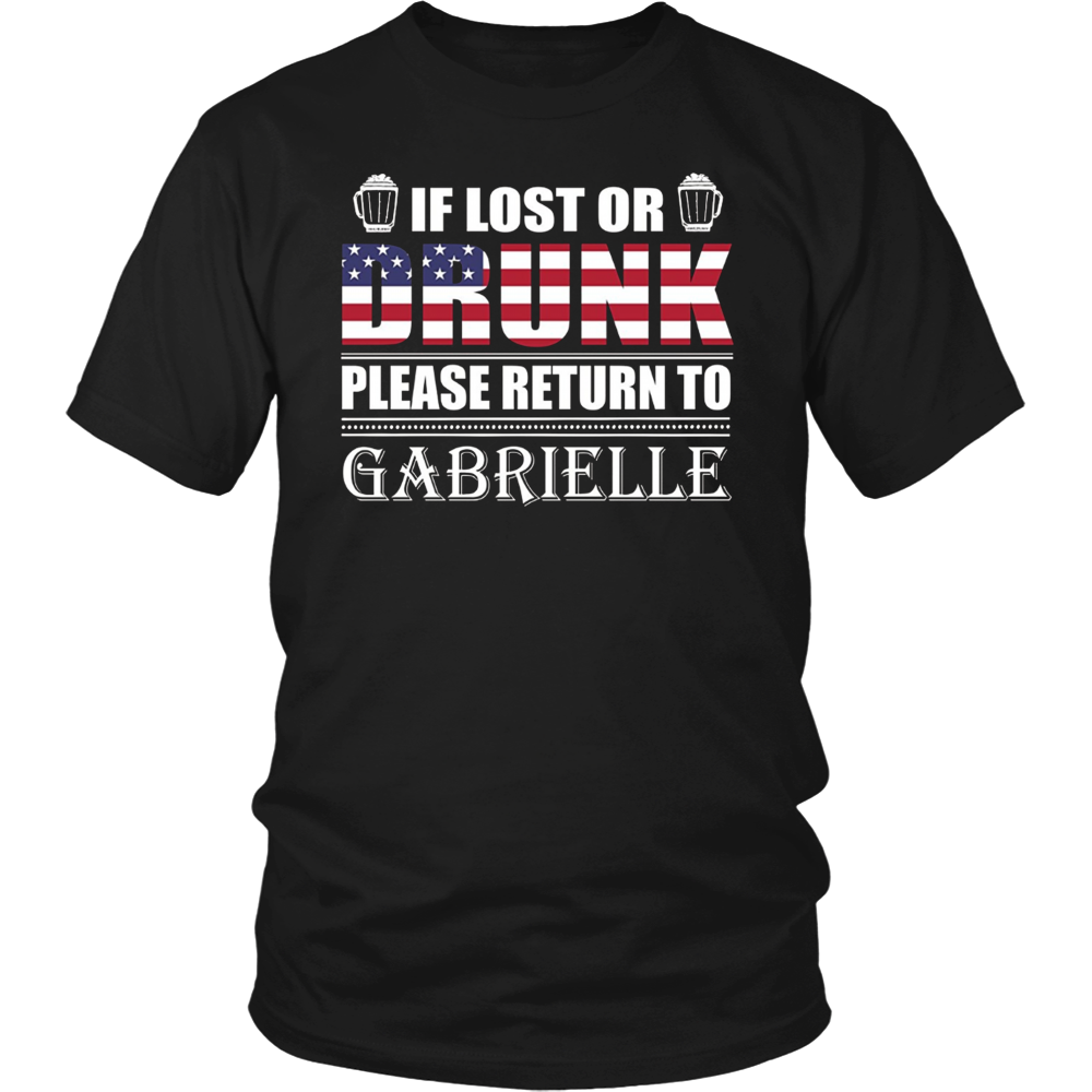 If Lost Or Drunk Please Return To Gabrielle T-Shirt