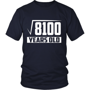 90 Years Old Square Root - Funny 90th Birthday Gift T-Shirt