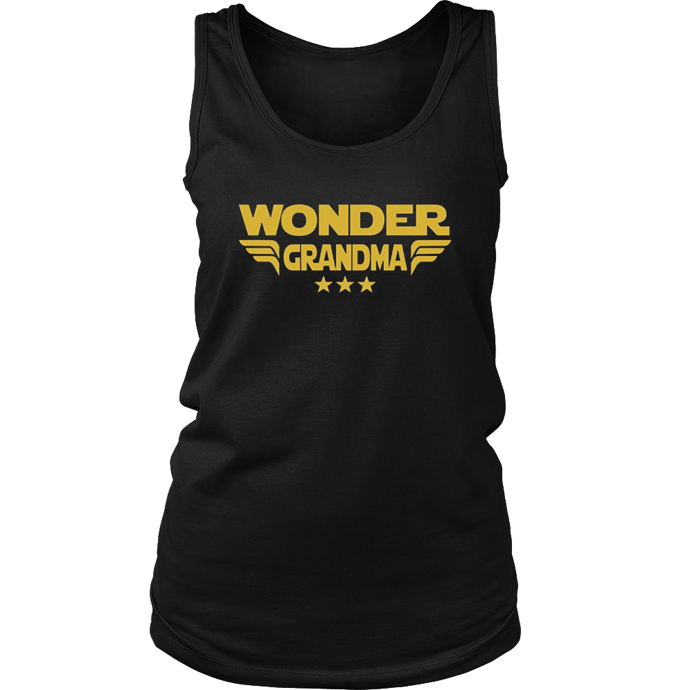 Wonder Grandma, Mothers Day Grandmother Shirt