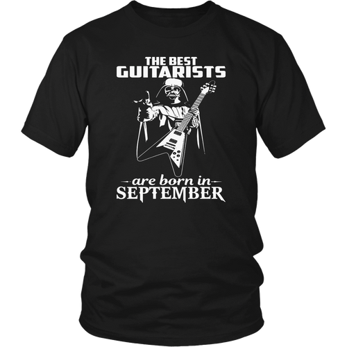 THE BEST GUITARISTS ARE BORN IN SEPTEMBER