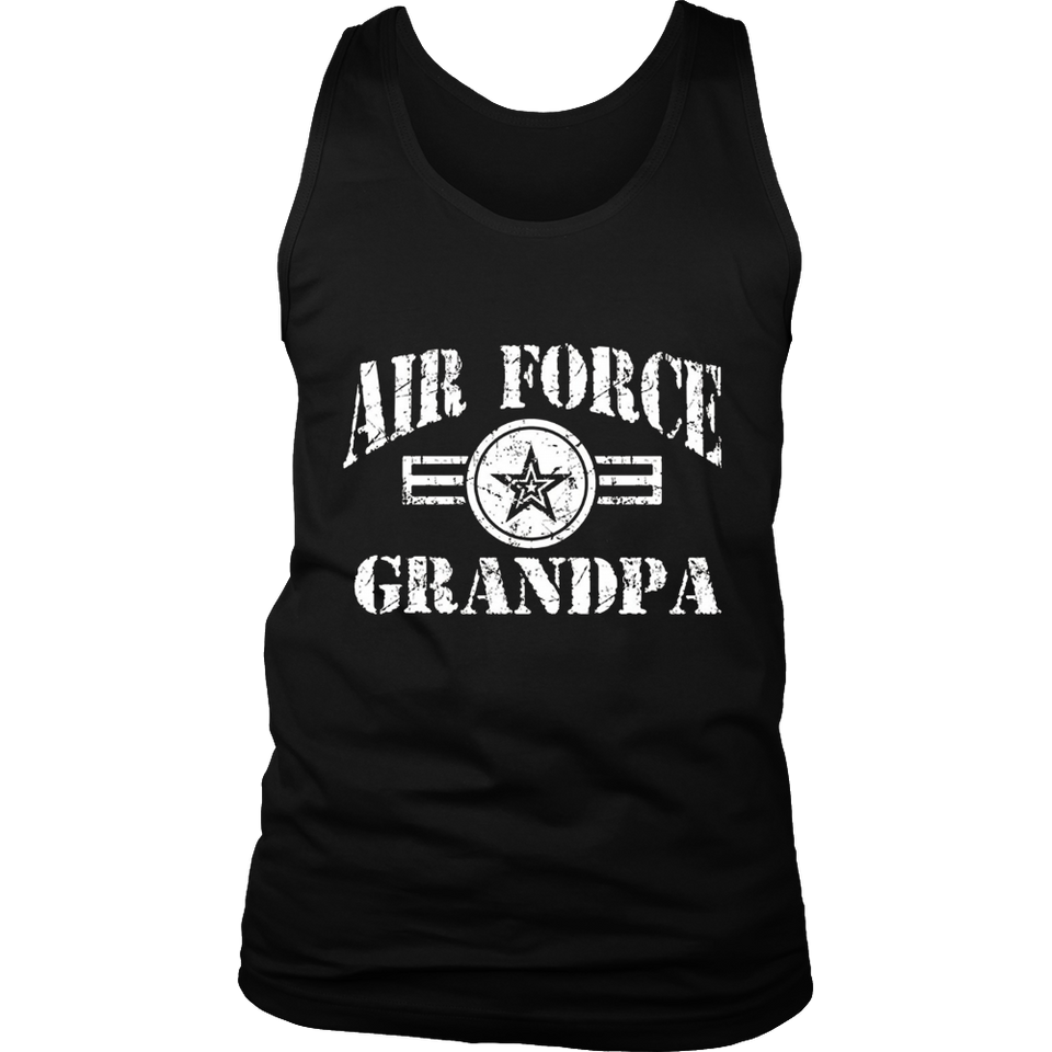 Veteran Air Force Grandpa T-shirts