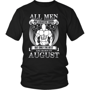 Women the best are born in August T-shirt