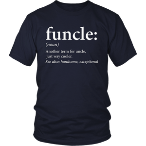 Mens Funcle Shirt - Cool & Funny Uncle T-Shirt