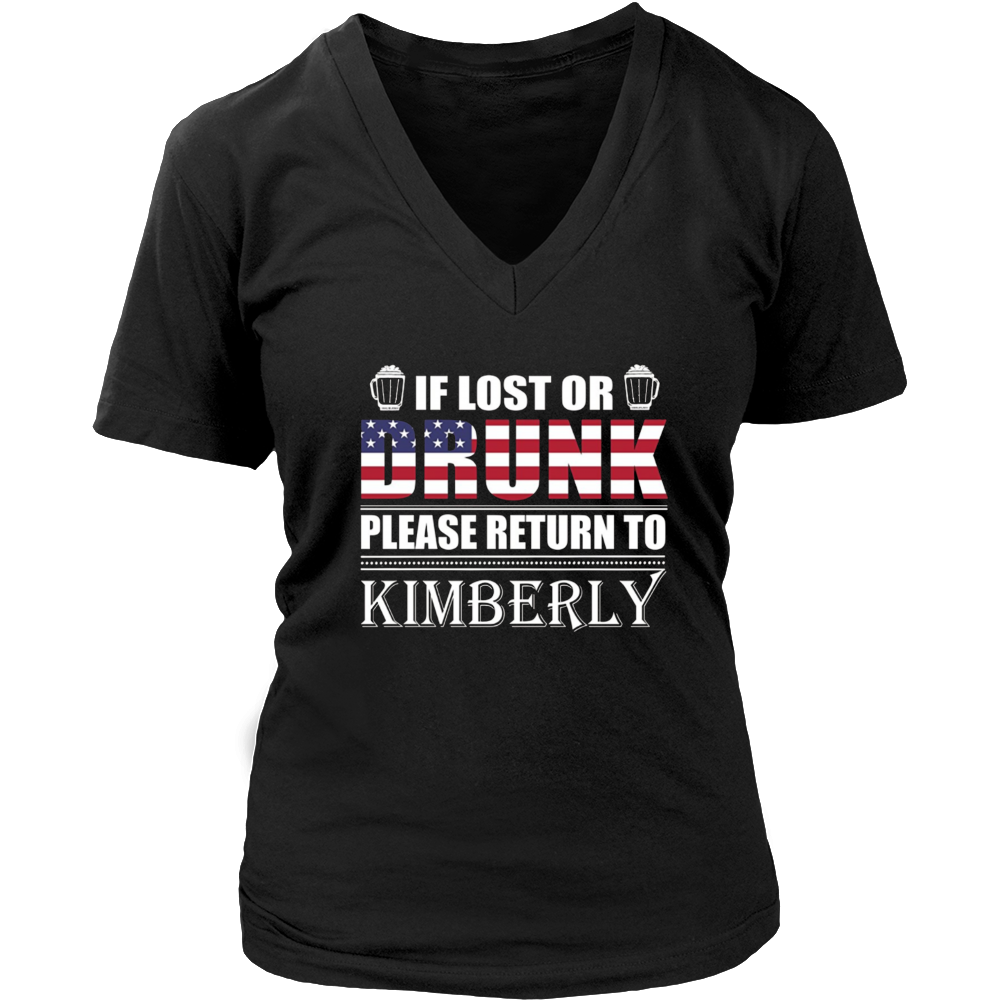 If Lost Or Drunk Please Return To Kimberly Shirt