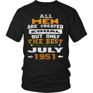 all men are created equal the best Are Born in July hoodie