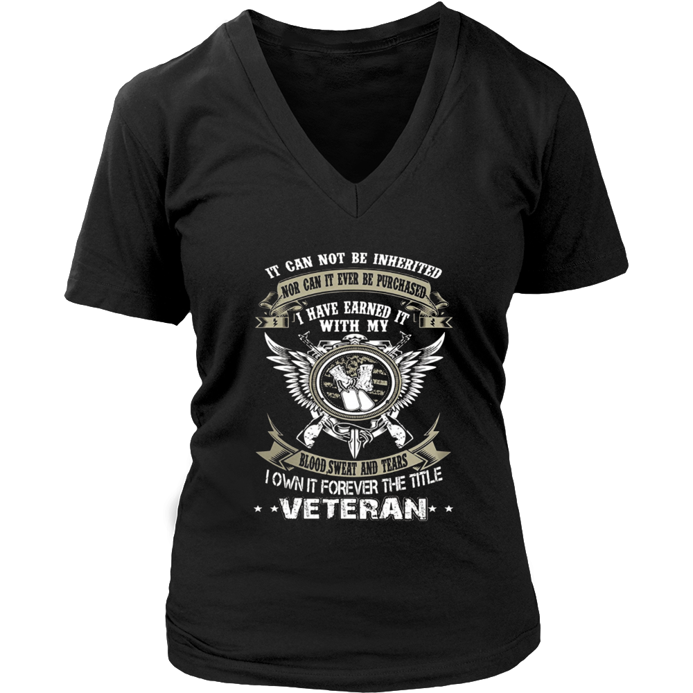 Veteran T Shirts I Own It Forever The Title Veteran