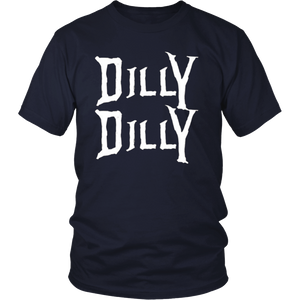 Retro 80's Neon Funny Beer Drinkers Dilly Dilly Gift T-Shirt