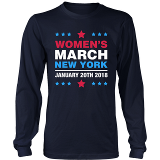 Women's March New York 2018 T-Shirt
