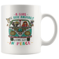 A Girl And Her Animals Living Life In Peace Mugs