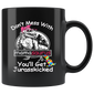 Don't Mess With Mamasaurus Autism Mugs Funny Autism Mom Mug