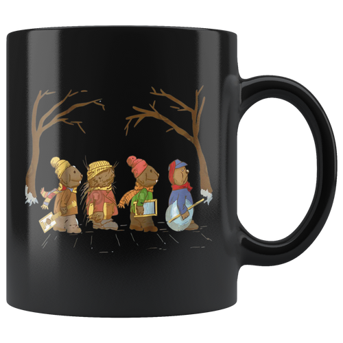 Jug Band Road Christmas Mugs