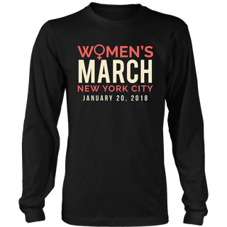 Women's March NYC January 20 2018 Shirt