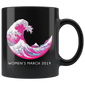 Women's March 2019 Mugs The Pink Wave Resist