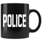 Halloween Costume Police Mugs
