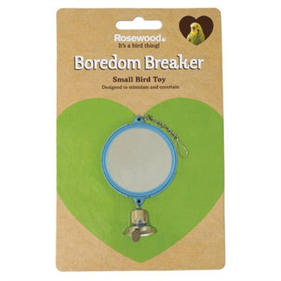 Boredom Breaker Double Mirror with Bell
