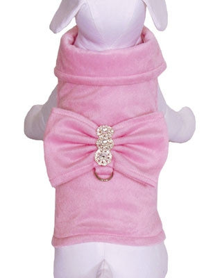 Cha-Cha Couture BowWow Bow Jacket with Matching Leash