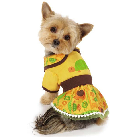 Casual Canine Jungle Bunch Turtle Dress
