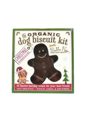 Organic Dog Biscuit Kit – Christmas Edition