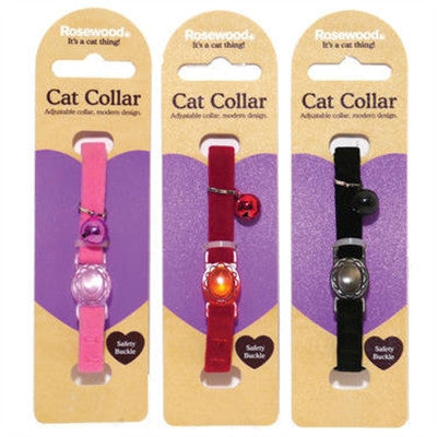 Catwalk Collection Velvet Cat Collars