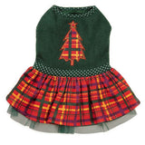 East Side Collection Holly Days Plaid Dresses