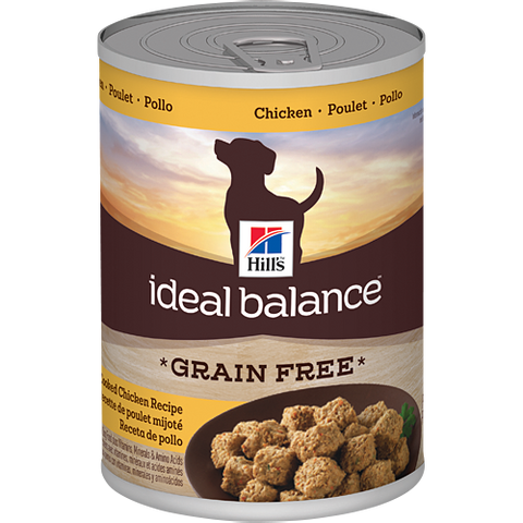 Hill's Ideal Balance Grain-Free Slow-Cooked Chicken Recipe Canned Dog Food