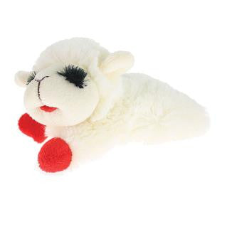 MPI Lamb Chop Plush Dog Toy with Squeaker