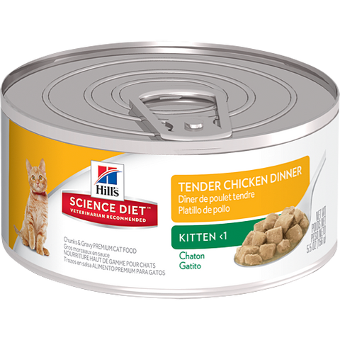 Hill's Science Diet Kitten Canned Food