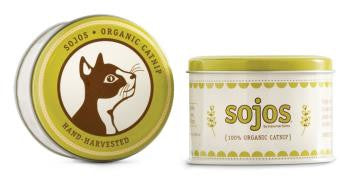 Sojos 100% Organic Catnip in Tin