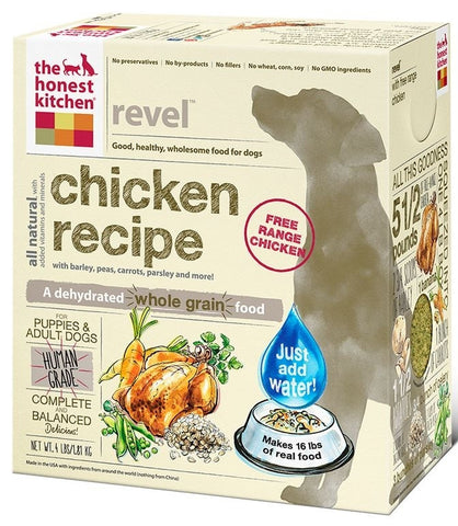 The Honest Kitchen Revel Chicken & Whole Grain Recipe