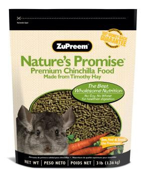 ZuPreem Nature's Promise Premium Chinchilla Food