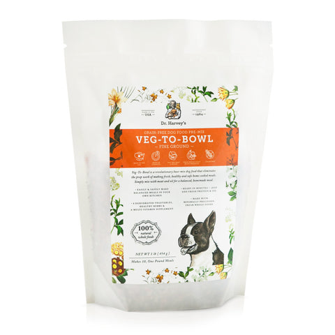 Dr. Harvey's Veg-To-Bowl Fine Ground: Dehydrated Vegetable Pre-Mix for Dogs