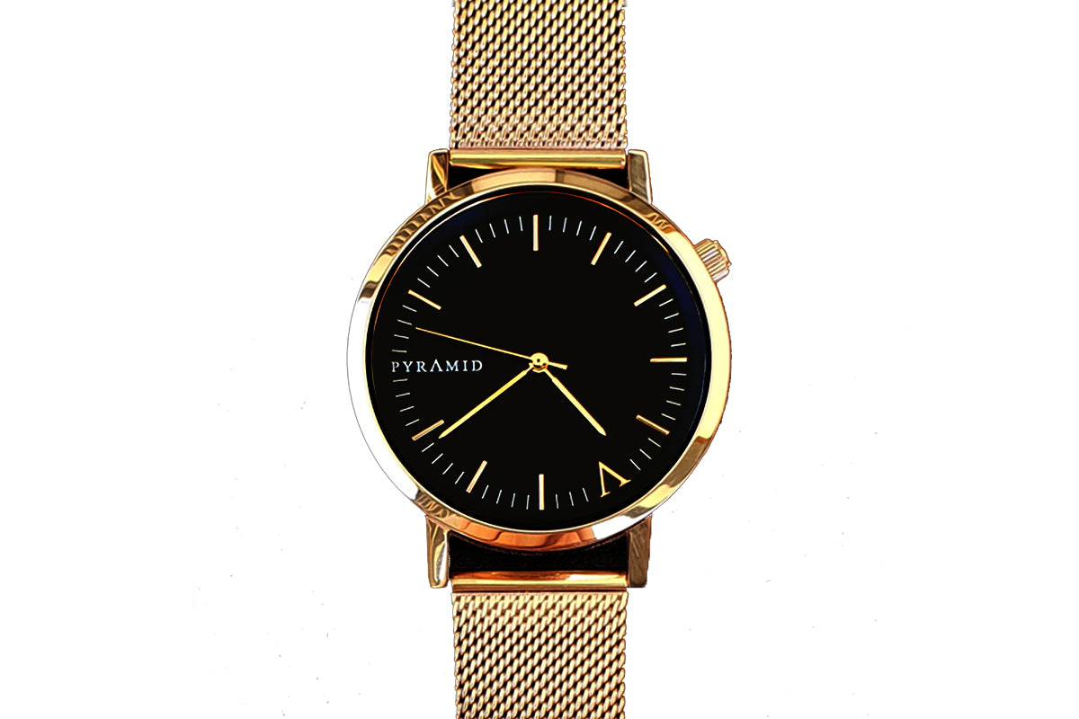 Gold Mesh - Pyramid Watches