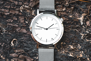 Silver Mesh - Pyramid Watches