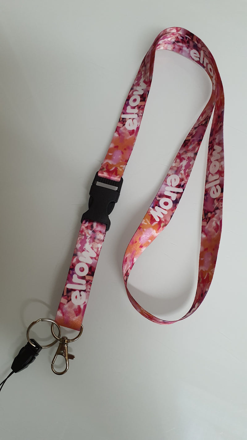 We are dreamers lanyard pink