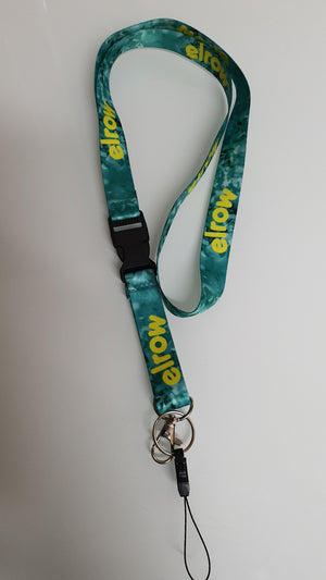 We are dreamers lanyard green