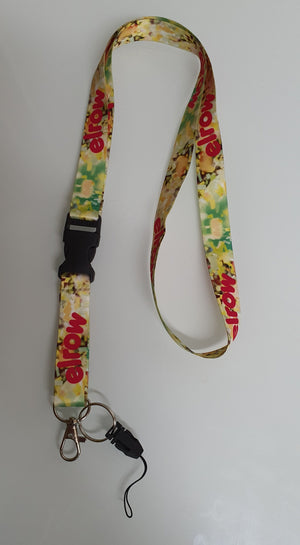 We are dreamers lanyard yellow