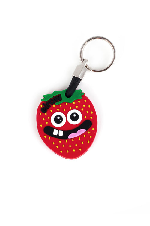 elrow Strawberry keyring