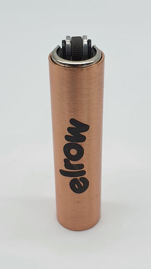 elrow champagne metal lighter